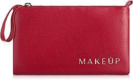 Düfte, Parfümerie und Kosmetik Kosmetiktasche rot 21x12 cm - MakeUp