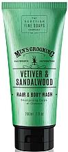 Düfte, Parfümerie und Kosmetik 2in1 Shampoo und Duschgel mit Vetiver und Sandelholz - Scottish Fine Soaps Vetiver & Sandalwood Hair Body Wash