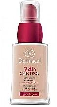 Düfte, Parfümerie und Kosmetik Langanhaltende Foundation mit Coenzym Q10 - Dermacol 24h Control Make-Up