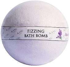 Düfte, Parfümerie und Kosmetik Sprudelnde Badebombe mit Lavendelduft - Kanu Nature Bath Bomb Lavender