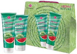 Düfte, Parfümerie und Kosmetik Körperpflegeset - Dermacol Aroma Ritual Watermelon (Duschgel 250ml + Körperlotion 200ml)