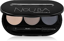 Düfte, Parfümerie und Kosmetik Augenbrauenpuder-Set - NoUBA Eyebrow Powder Kit