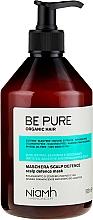 Düfte, Parfümerie und Kosmetik Beruhigende Haarmaske mit Ingwer- und Traubenextrakt - Niamh Hairconcept Be Pure Scalp Defence Mask