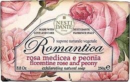 """Düfte, Parfümerie und Kosmetik Seife """"Florentiner Rose und Pfingstrosen"""" - Nesti Dante Romantica Soap"""