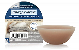 Düfte, Parfümerie und Kosmetik Duftwachs Warm Cashmere - Yankee Candle Wax Melt Warm Cashmere