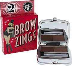 Düfte, Parfümerie und Kosmetik Augenbrauenset (Pigmentiertes Wachs + Augenbrauenpuder + Augenbrauenpinzette + Augenbrauenpinsel) - Benefit Brow Zings