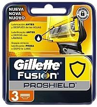 Düfte, Parfümerie und Kosmetik Ersatzklingen 3 St. - Gillette Fusion ProShield