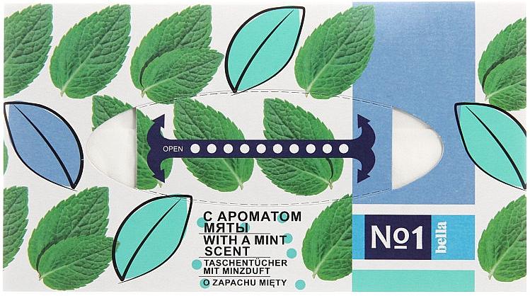 Trockene Kosmetiktücher mit Minzduft - Bella Mint Wipes