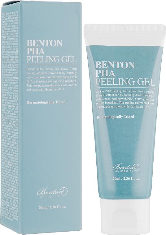 Gesichtspeelinggel mit Lactobionsäure - Benton PHA Peeling Gel
