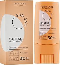 Sonnenschutzstick für Gesicht und Körper SPF 30 - Oriflame Sun 360 Sun Stick SPF 30 — Bild N1