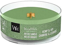 Düfte, Parfümerie und Kosmetik Mini Duftkerze im Glas Hemp & Ivy - WoodWick Petite Candle Hemp And Ivy