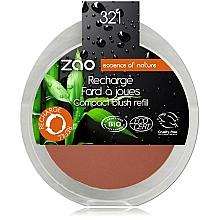 Düfte, Parfümerie und Kosmetik Kompaktrouge für das Gesicht (Nachfüller) - Zao Compact blush refill