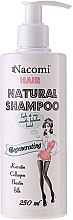 Düfte, Parfümerie und Kosmetik Pflegendes und regenerierendes Haarshampoo mit Keratin, Kollagen und Elastin - Nacomi Natural Regenerating Shampoo