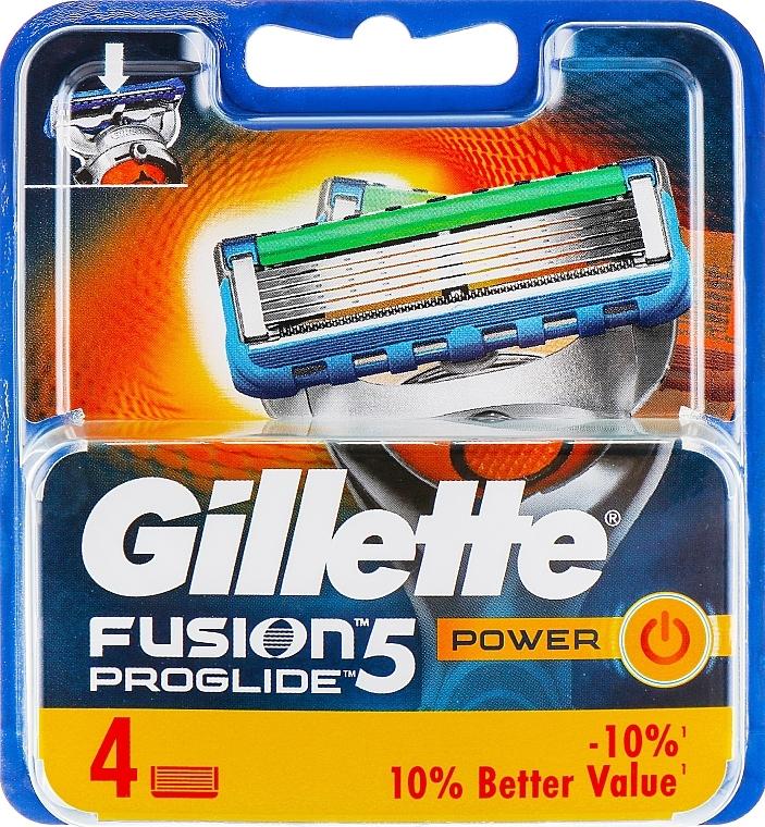Ersatzklingen 4 St. - Gillette Fusion ProGlide Power
