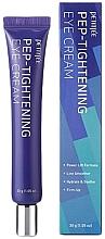 Düfte, Parfümerie und Kosmetik Straffende Augenkonturcreme mit Peptiden - Petitfee Pep-Tightening Eye Cream