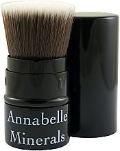 Düfte, Parfümerie und Kosmetik Puder-, Rouge- und Bronzerpinsel ausziehbar - Annabelle Minerals Flat Top
