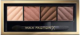 Düfte, Parfümerie und Kosmetik Lidschattenpalette - Max Factor Smokey Eye Drama Eyeshadow Kit Matte