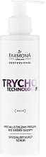 Düfte, Parfümerie und Kosmetik Kopfhaut-Peeling mit Koffein - Farmona Professional Trycho Technology Specialist Scalp Scrub