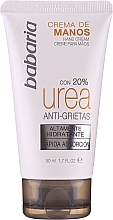Düfte, Parfümerie und Kosmetik Feuchtigkeitsspendende Handcreme mit 20% Harnstoff - Babaria Cream Hands Urea Anti-grietas