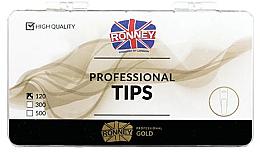 Düfte, Parfümerie und Kosmetik Transparente Nageltips lang - Ronney Professional Tips