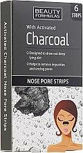 Düfte, Parfümerie und Kosmetik Nasenporenstreifen mit Aktivkohle und Zaubernusswasser - Beauty Formulas With Activated Charcoal Nose Pore Strips