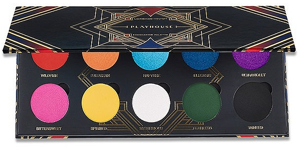 Lidschattenpalette - London Copyright Magnetic Eyeshadow Palette Playhouse