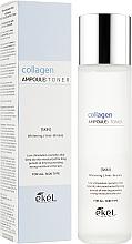 Düfte, Parfümerie und Kosmetik Feuchtigkeitsspendendes und aufhellendes Anti-Falten Gesichtstonikum mit Kollagen - Ekel Collagen Ampoule Toner