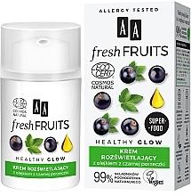 Düfte, Parfümerie und Kosmetik Aufhellende Gesichtscreme mit Johannisbeeröl - AA Fresh Fruits