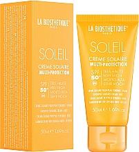 Düfte, Parfümerie und Kosmetik Wasserfeste Sonnenschutzcreme für empfindliche Gesichtshaut SPF 50+ - La Biosthetique Soleil Multi-Protection Solar Cream SPF 50+