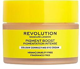Düfte, Parfümerie und Kosmetik Korrigierende Augenkonturcreme - Revolution Skincare Pigment Boost Colour Correcting Eye Cream