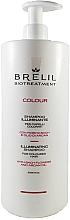 Düfte, Parfümerie und Kosmetik Shampoo für gefärbtes Haar mit Bachblüten und Arganöl - Brelil Bio Treatment Colour Illuminating Shampoo
