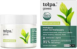 Düfte, Parfümerie und Kosmetik Gesichtscreme - Tolpa Green Mattifying Normalizing Cream