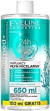 Düfte, Parfümerie und Kosmetik Mizellenwasser für das Gesicht - Eveline Cosmetics Facemed+