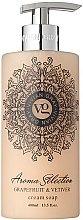 Düfte, Parfümerie und Kosmetik Flüssigseife - Vivian Gray Aroma Selection Creme Soap Grapefruit & Vetiver