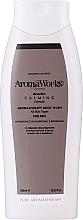 Düfte, Parfümerie und Kosmetik Beruhigendes Duschgel für Männer - AromaWorks Men's Calming Body Wash