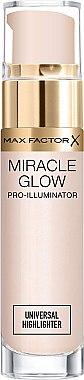 Flüssiger Highlighter - Max Factor Miracle Glow Pro Illuminator Highlighter