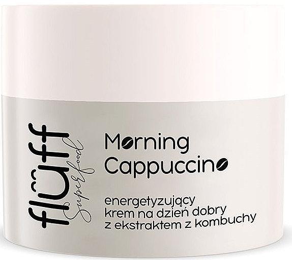 Anti-Aging Tagescreme für das Gesicht mit Kombucha und Kaffeeextrakt - Fluff Morning Cappuccino Day Face Cream