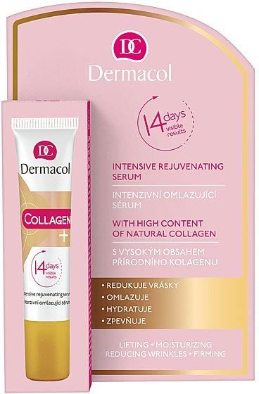 Intensiv verjüngendes Gesichtsserum mit Kollagen - Dermacol Collagen+ Intensive Rejuvenating Serum