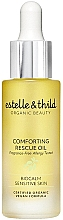 Düfte, Parfümerie und Kosmetik Gesichtsöl für empfindliche Haut mit Haferöl und Jojoba - Estelle & Thild BioCalm Comforting Rescue Oil