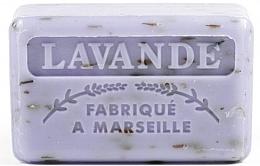 Düfte, Parfümerie und Kosmetik Handgemachte Naturseife mit ätherischem Lavendelöl und Sheabutter - Foufour Savonnette Marseillaise Lavande