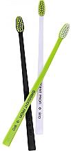 Düfte, Parfümerie und Kosmetik Bio Zahnbürste schwarz, weiß, grün 3 St. - Swissdent Bio Tandborste Triple Pack