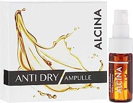 Düfte, Parfümerie und Kosmetik Gesichtsampullen gegen Falten für trockene Haut - Alcina Anti Dry Ampulle