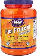 Düfte, Parfümerie und Kosmetik Nahrungergänzungsmittel Erbsenproteinpulver mit Vanille-Toffee-Geschmack - Now Foods Sports Pea Protein Vanilla Toffee