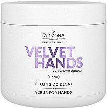 Düfte, Parfümerie und Kosmetik Hand Scrub mit Lilie und Flieder Duft - Farmona Express Repair Scrub