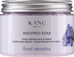 Düfte, Parfümerie und Kosmetik Mydło peelingujące w piance Kwiatowa łąka - Kanu Nature Floral Meadow Peeling Soap
