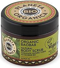 Düfte, Parfümerie und Kosmetik Stärkendes Körperpeeling mit Bio Boababöl - Planeta Organica Organic Baobab Natural Body Scrub