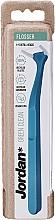 Düfte, Parfümerie und Kosmetik Zahnseide mit Halter blau - Jordan Green Clean Flosser