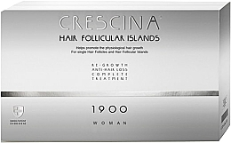 Düfte, Parfümerie und Kosmetik Anti-Haarausfall Ampullen für Frauen 1900 - Labo Crescina Hair Follicular Island Re-Growth Anti-Hair Loss Complete Treatment 1900 Woman