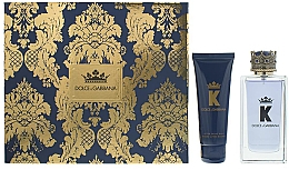 Düfte, Parfümerie und Kosmetik Dolce & Gabbana K by Dolce & Gabbana - Duftset (Eau de Toilette 100ml + After Shave Balsam 75ml)