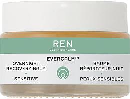 Düfte, Parfümerie und Kosmetik Regenerirender Nachtbalsam für empfindliche Haut - Ren Evercalm